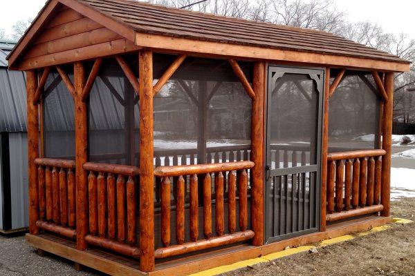 log pavilion for sale in minneapolis minnesota