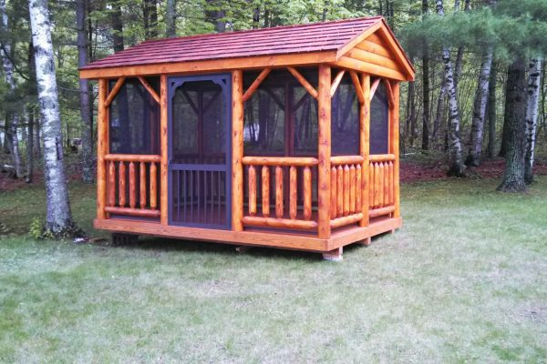 log pavilion for sale in mounds view minnesota