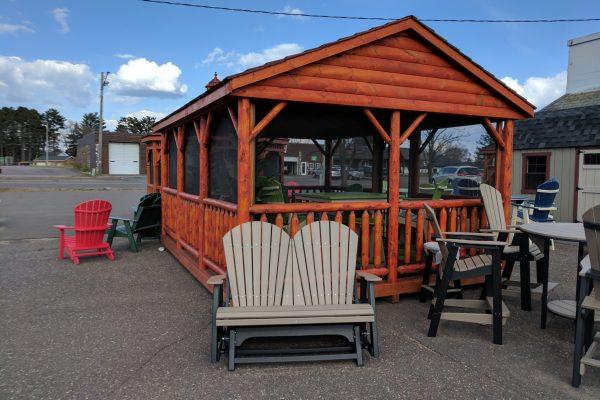 log pavilion for sale in st paul minnesota