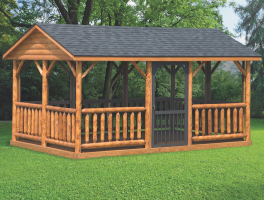 northwood industries log pavilions for sale in minnesota and wisconsin