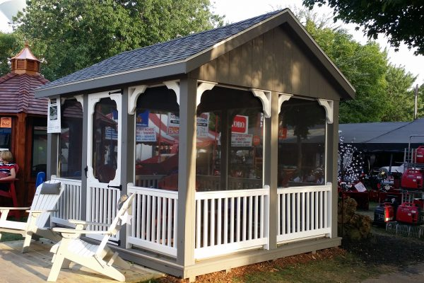northwood industries screened pavilion for outdoor pavilion