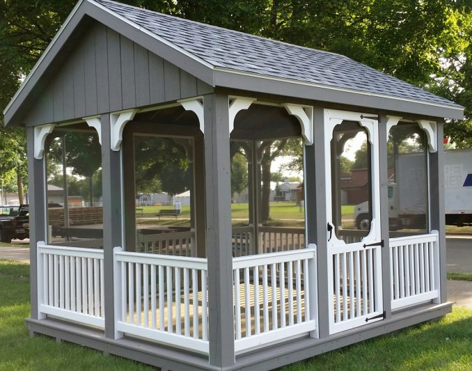 northwood industries screened pavilion for sale in hayward wisconsin