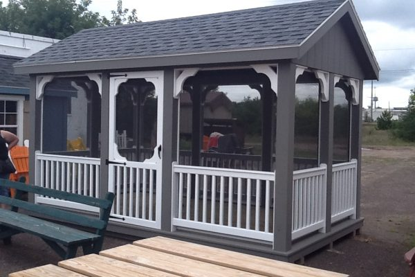 screened pavilion for sale in hayward wisconsin