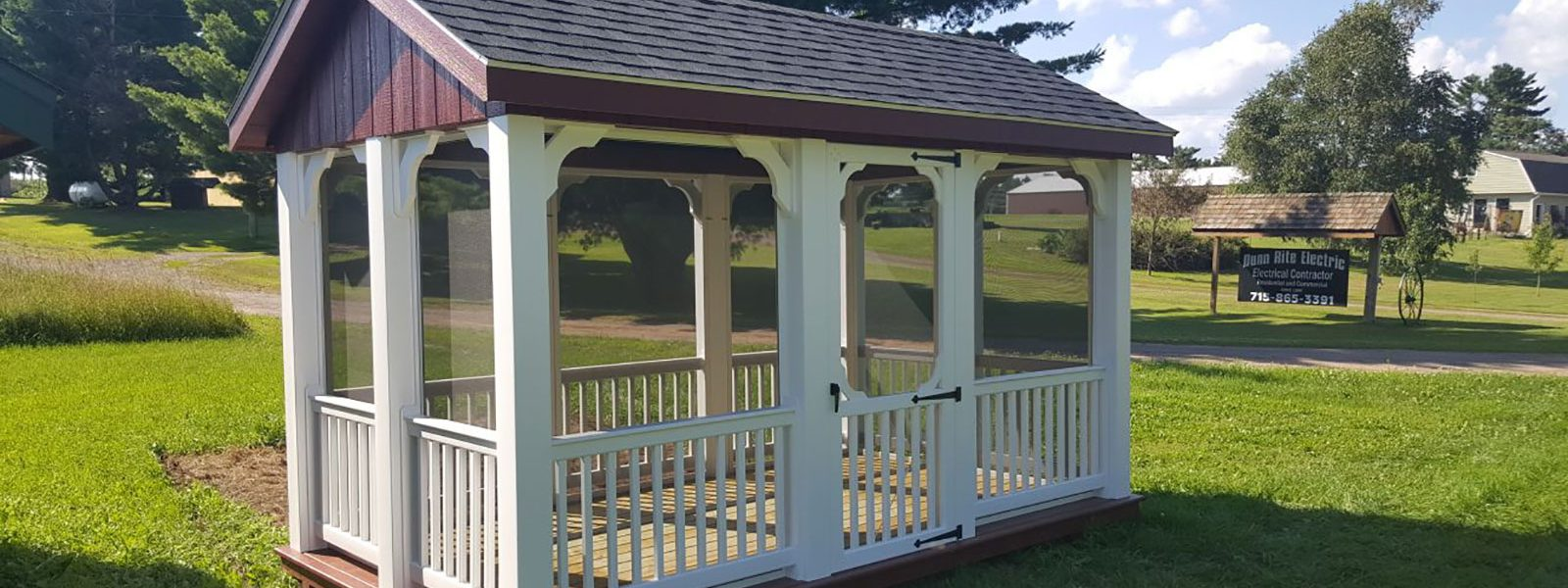 screened pavilion for sale in minnesota