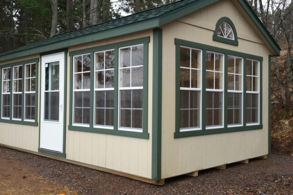 sunroom shed for sale in hayward wisconsin