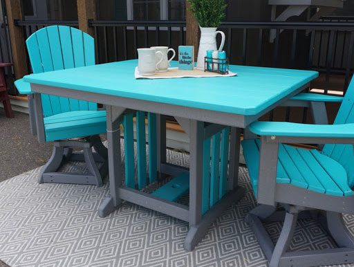 dining collection poly patio furniture from for sale
