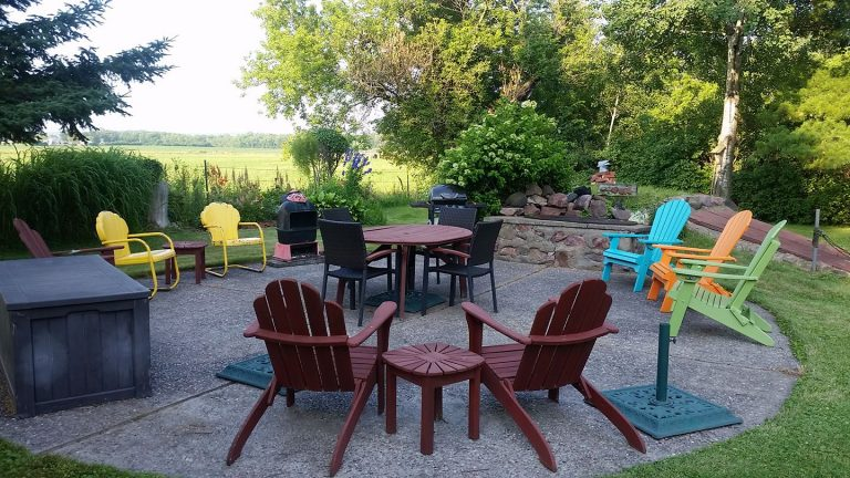 poly patio furniture for storage shed exterior