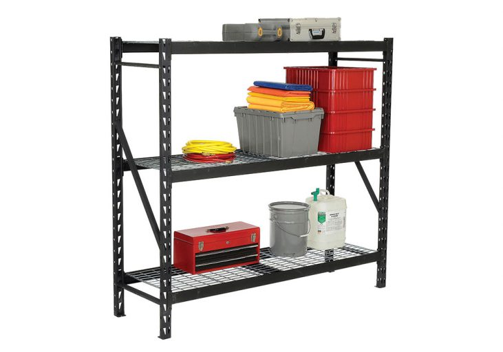 stand alone shelving for storage sheds