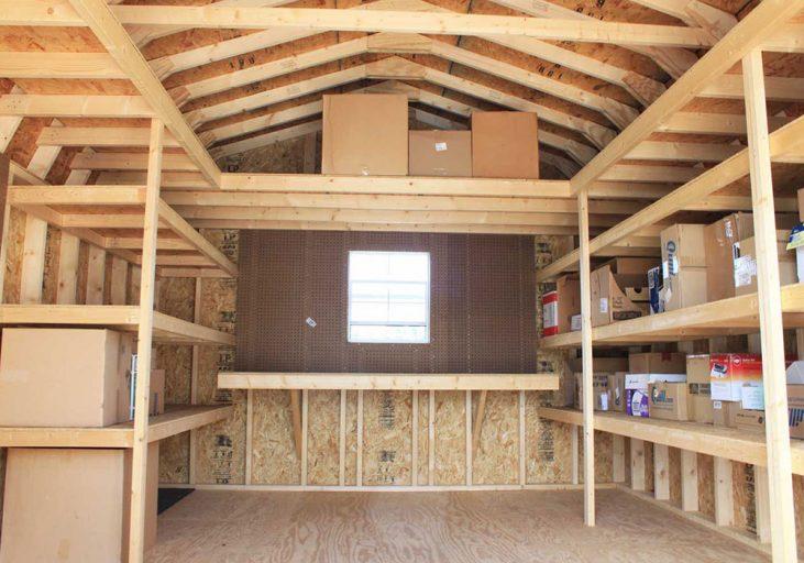 storage shed shelving 1