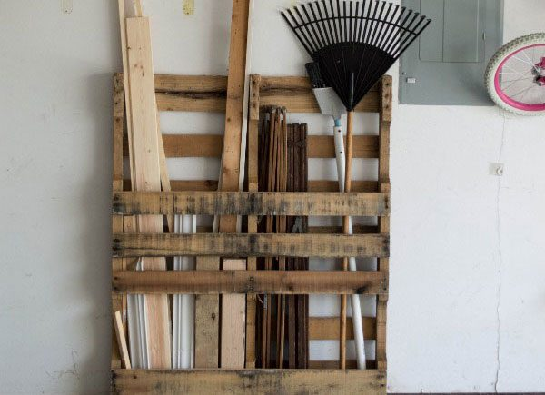 storage shed organization hacks