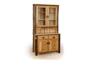 18 hickory 2 door hutch