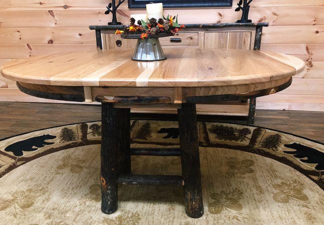 21 pedestal base tables