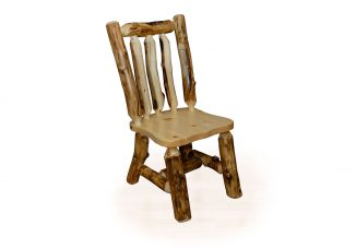 23 rustic aspen kitchen chair