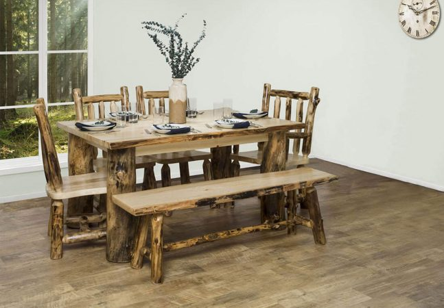 24 aspen dining table
