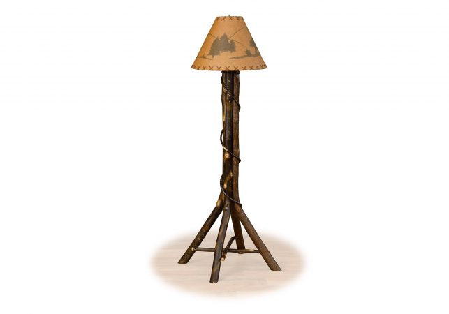71 hickory living floor lamp