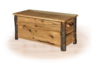 99 hickory blanket chest