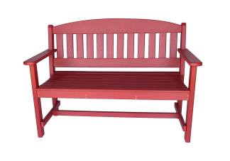 50 park bench from polywood backyard lawn furniture
