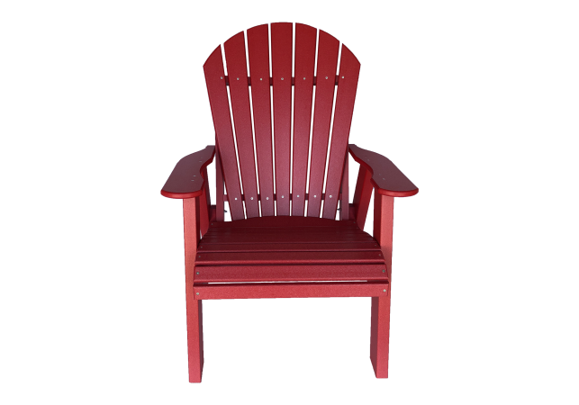 06 fanback chair outdoor poly patio furniture