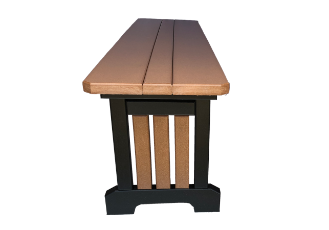 39 mission bench outdoor poly furniture for sale