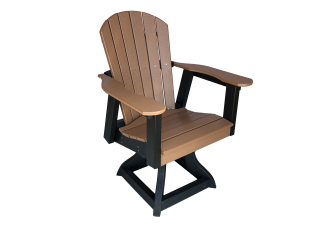 47 swivel dining chair outdoor deck furniture