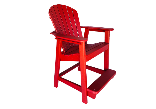 18 deluxe balcony chair outdoor patio furniture from composite material