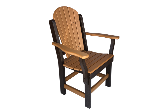48 dining chair for outdoor furniture sets from poly wood