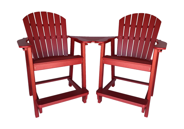 26 deluxe balcony chair settee outdoor settee chair sets from poly wood