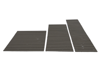 37 roll up poly decking for outdoor walkways
