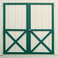 shed door wood regular 0
