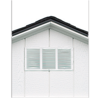 shed option gable vent 0