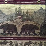 bear mountain fabric for hickory furniture