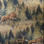 deer fabric for hickory furniture