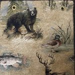 wildlife fabric for hickory furniture