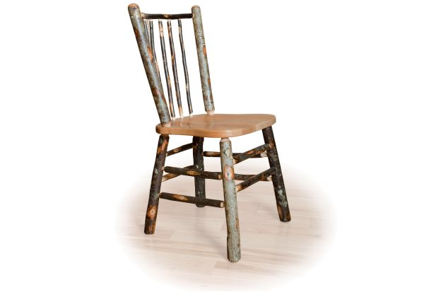 07 hickory stick back chair no arms