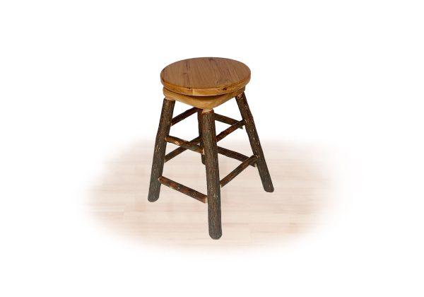24 hickory kitchen stool swivel