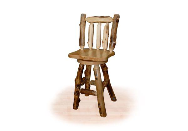 27 aspen swivel back bar stools