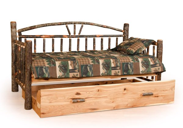 30 hickory day bed with trundle
