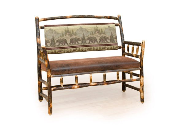36 living room deacon bench