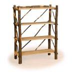 50 rustic bookshelf