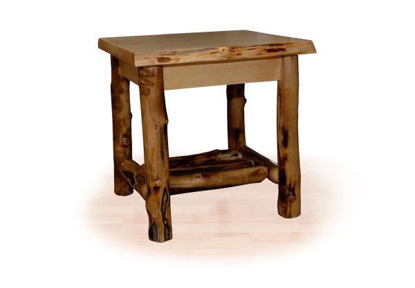 64 aspen end table