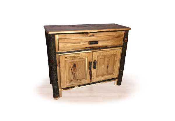 65 hickory bathroom cabinet