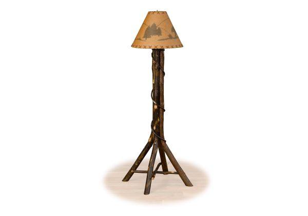 71 hickory living floor lamp