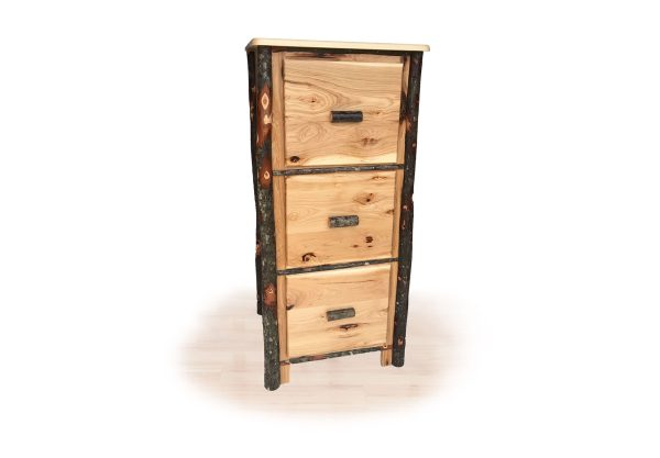 77 hickory file cabinet