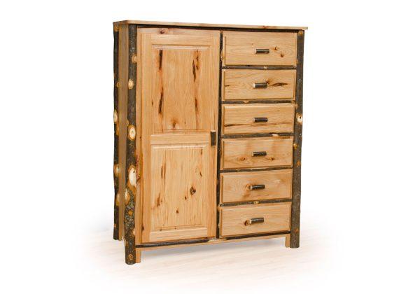 86 hickory wardrobe