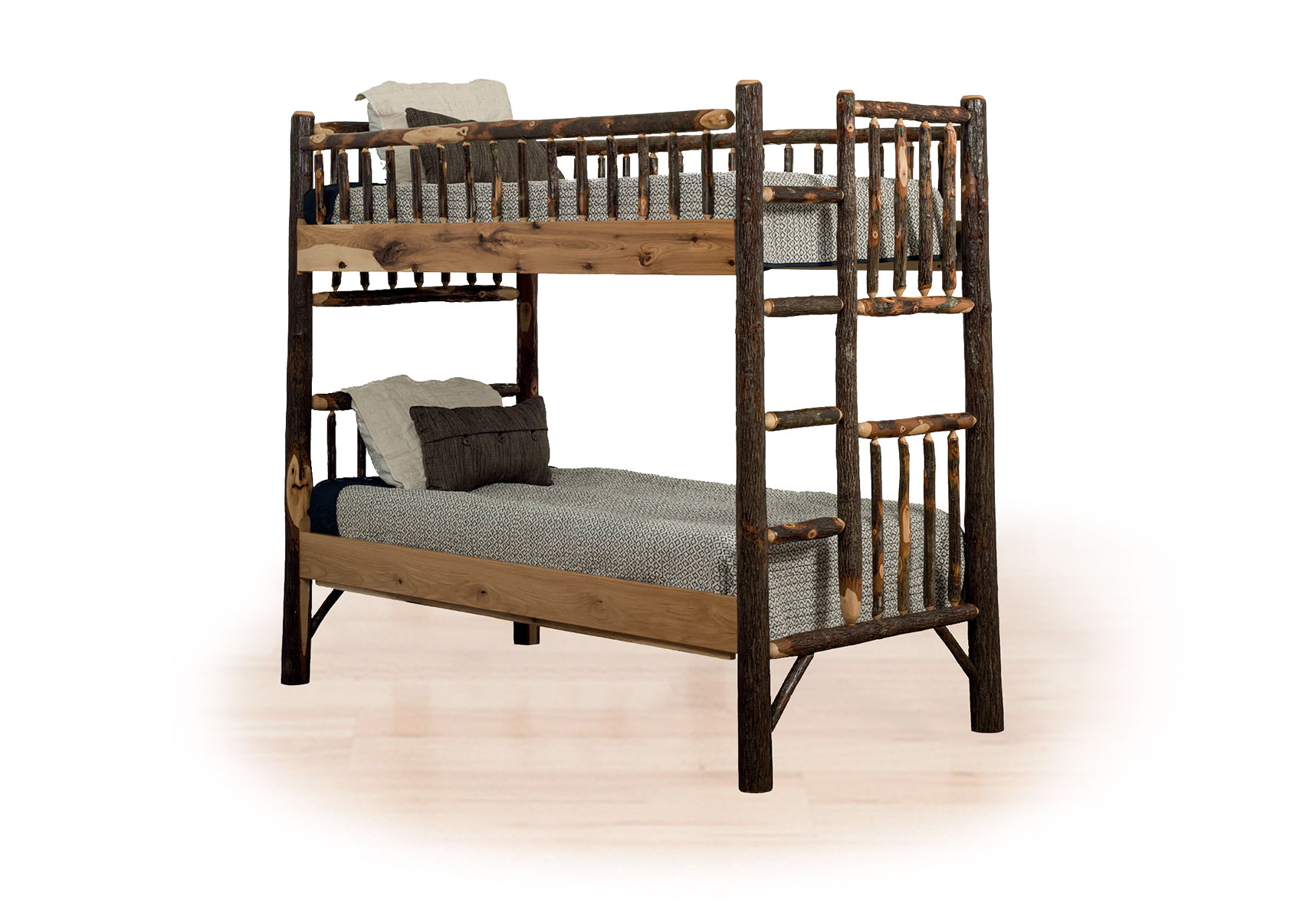96 hickory bunk bed
