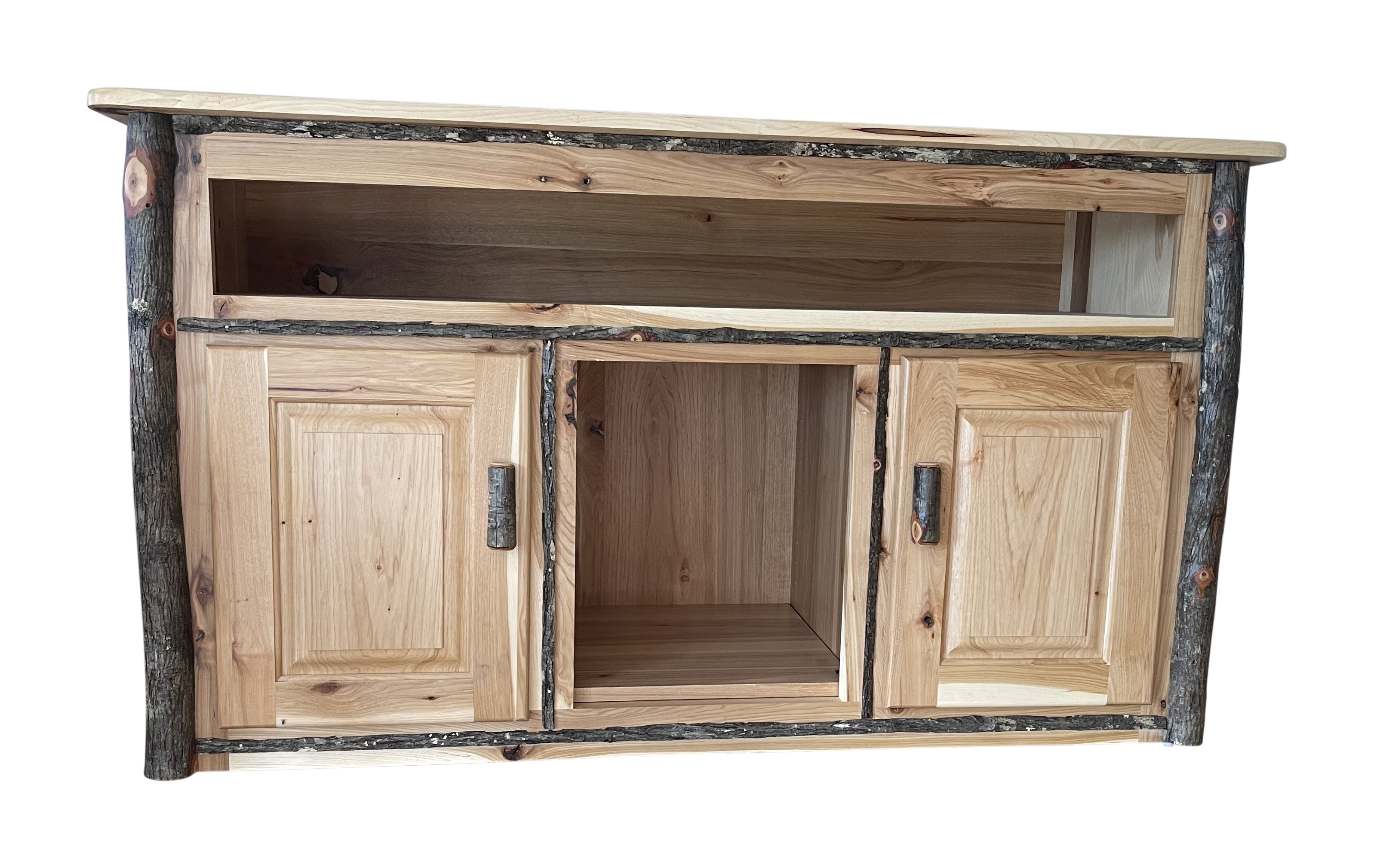 Entertainment Center with top opening