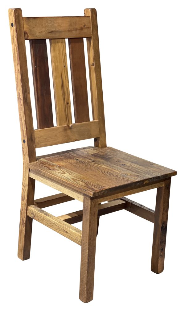 barnwood mission dining chair