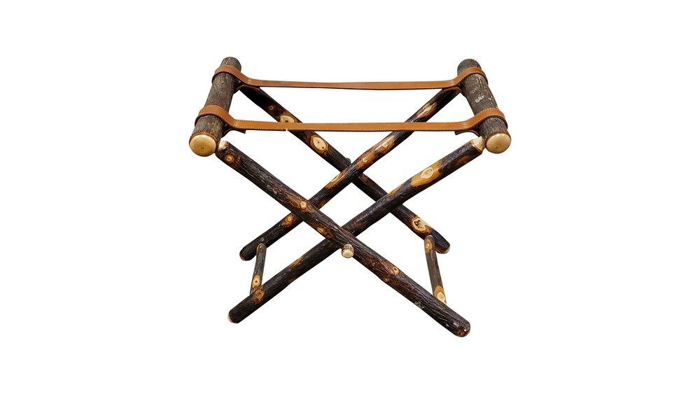 hickory luggage rack
