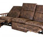 sofa recliner wall hugger open