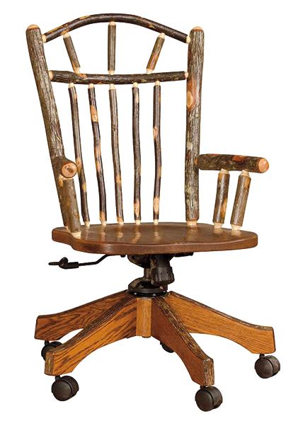 wagon wheel office chair